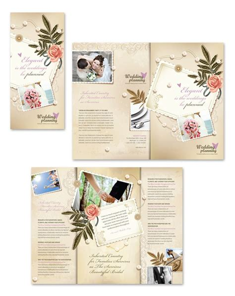 planned giving brochures templates wedding planner tri fold brochure template http www