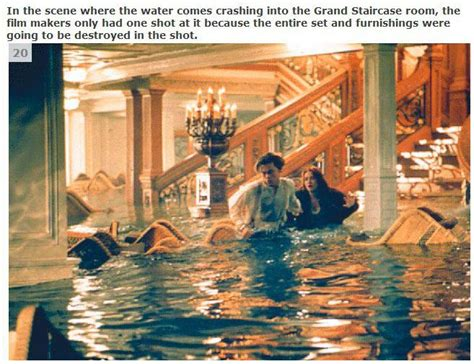 titanic film unknown facts very interesting facts about the movie titanic 33 pics