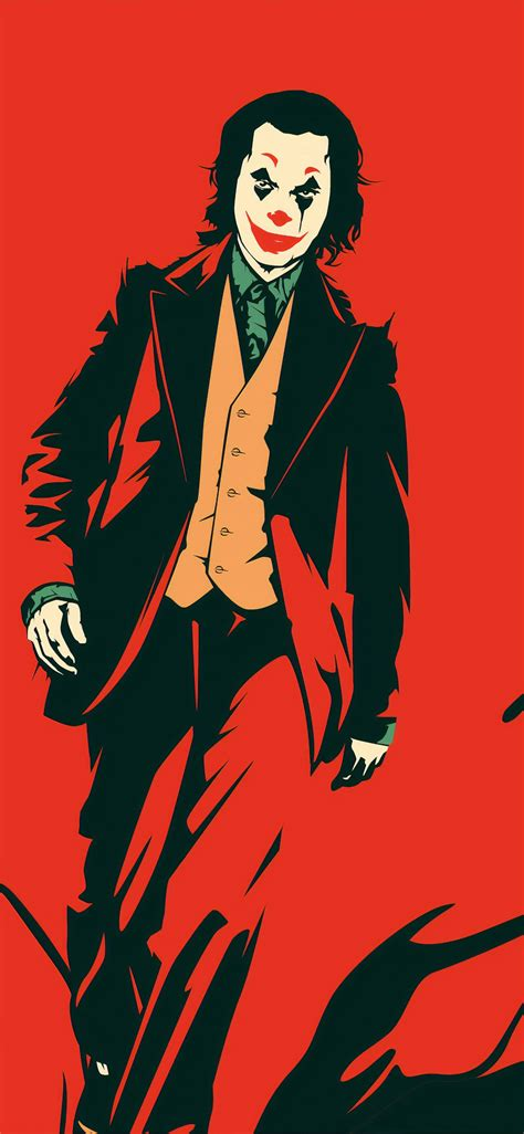 joker red  iphone  wallpapers