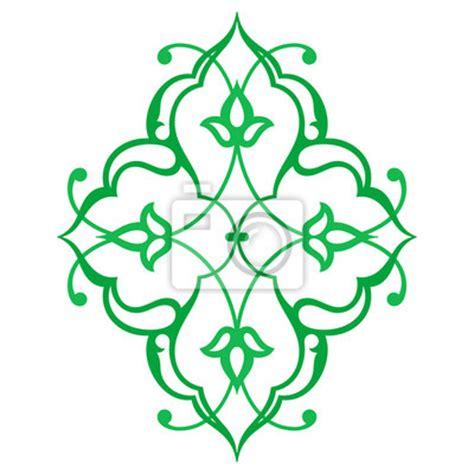 Orientalische Muster Vorlagen Kostenlos Arabische Orientalische Ornament Blumenmuster Motiv Arabeske Notebook Sticker Wandsticker