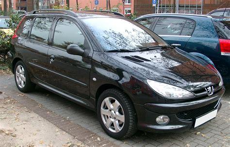 peugeot 206 sw технические характеристики автомобиля peugeot 206 sw 1 1i
