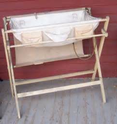 Antique Baby Changing Table 1940 S Or 1950 S Bathinette Combination Baby Bath And Changing Table Ebay
