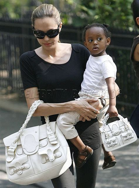 Bag For Babies Zahara Joli Pitt With Valentino Histoire Bag by And Zahara S Matching Purses