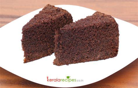 simple chocolate cake kerala recipes
