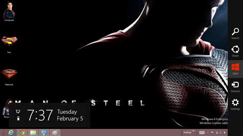 superman themes for windows 10 superman the man of steel theme for windows