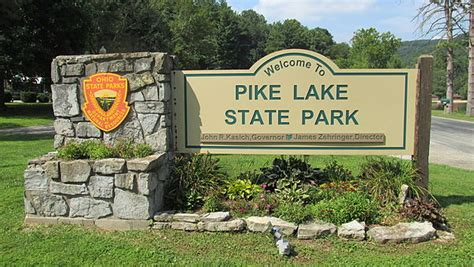 Pike Lake State Park Cabins by Pike Lake State Park Ohio