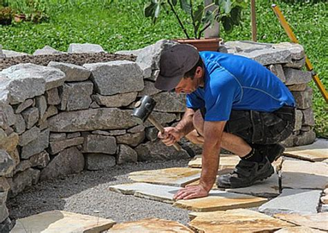 Bodenplatten Garten Verlegen by Terrassenplatten Preiswert Verlegen Realistische Tipps