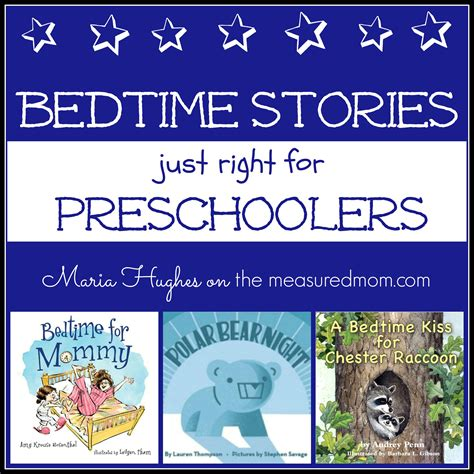 5 bedtime stories for preschoolers the measured mom