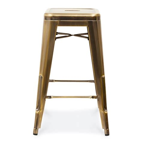 Metal Stools Uk by Xavier Pauchard Style Metal Stool Brass Xavier