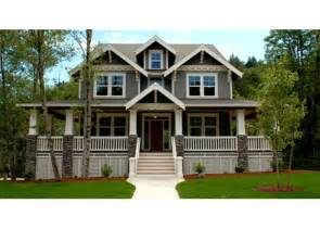 House Plans With Wrap Around Porch by Gallery For Gt Craftsman Style House Plans With Wrap Around