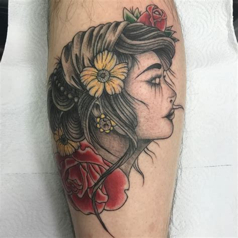 65 enchanting gypsy tattoos designs and meaning 2018