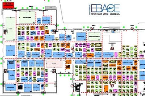 trade show floor plan geneva convention exhibitor dashboard 2015 european business aviation