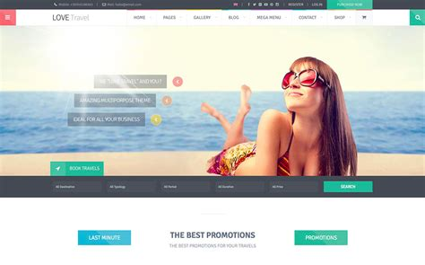 the best wordpress sites in the world 50 jaw dropping wordpress travel themes for travel