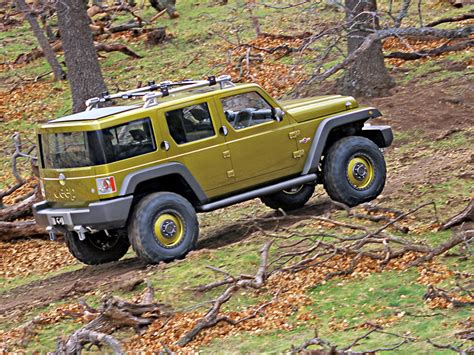Jeep Rescue 2004 Jeep Rescue Concept Rear Side Woods 1024x768