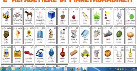 alfabeto italiano completo 26 lettere alfabeto italiano