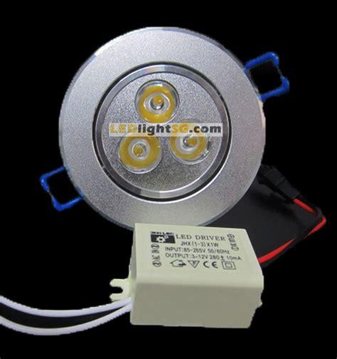 Downlight 3watt 3watt led downlight warm white