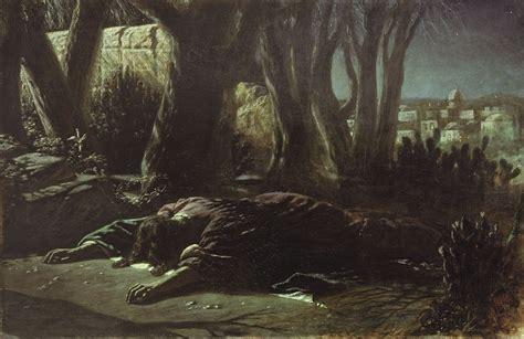 In The Garden Of Gethsemane by In Gethsemane 1878 Vasily Perov Wikiart Org