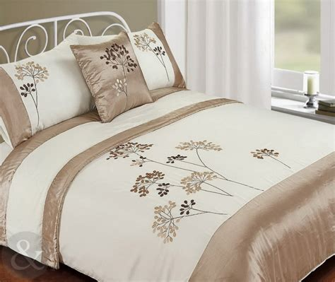 complete bed in a bag set 5pc bed in a bag embroidered duvet cover faux satin silk