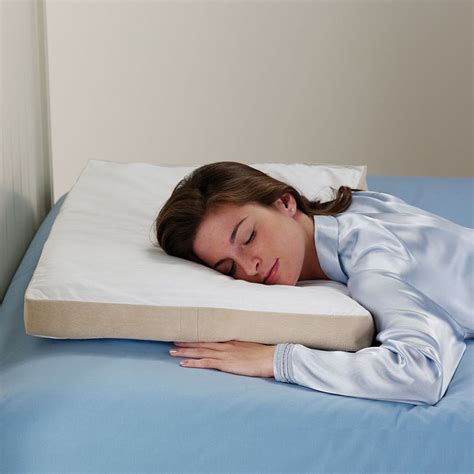 stomach sleepers pillow the green