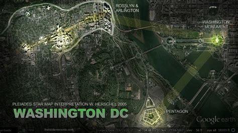 washington dc map secret wayne herschel author the records discovered