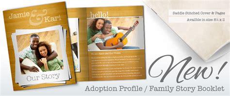 Create An Adoption Profile Book Adoption Book Template