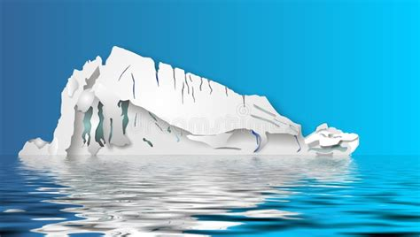 clipart iceberg iceberg illustration stock illustration image of melting