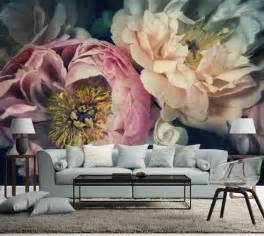 Floral Wall Mural floral wall mural perfectly addition to any living room