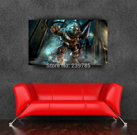 Bioshock Home Decor | original bioshock poster 50x70cm 20x28inch game wall