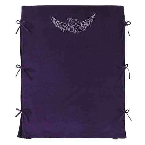 kopfteilbezug bett bett kopfteilbezug f 252 r kinderbett violett rock 90 cm