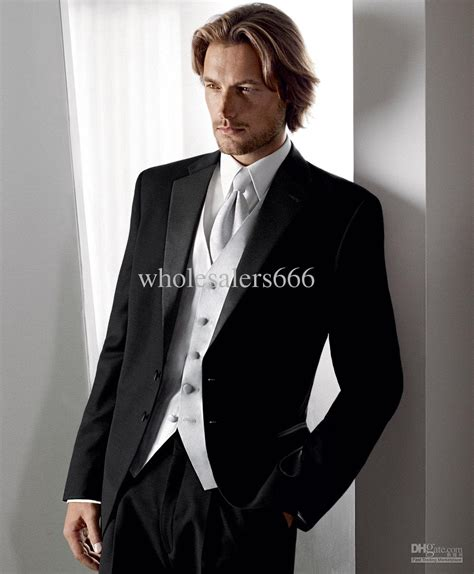 arrival suit vest groom tuxedos best man
