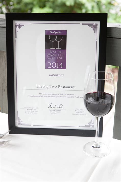 Figs Gift Card - accolades the fig tree restaurant