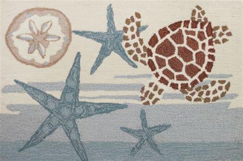 coastal style rugs coastal turtle rug style rugs by homefires rugs