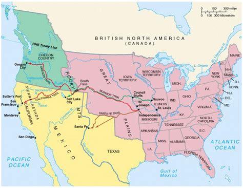map of oregon 1840 mrwoodkis manifest destiny f