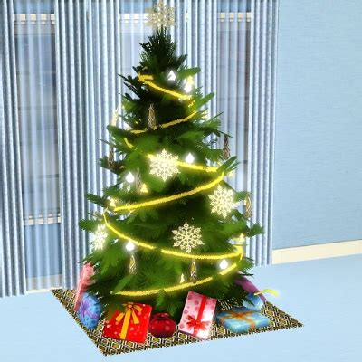 gold and silver christmas tree by dec3338 the exchange