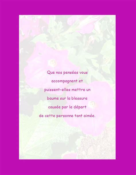 Modeles De Lettre Pour Condoleances Condol Ances Exemples
