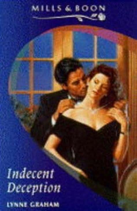 Novel Harlequin The Lynne Graham indecent deception by lynne graham
