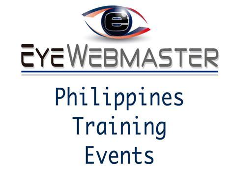 online tutorial in the philippines philippines online training events eyewebmaster