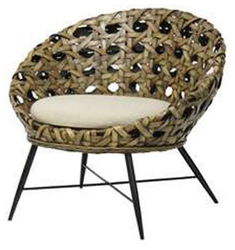 Outdoor Saucer Chair palecek manhattan saucer chair modern outdoor lounge