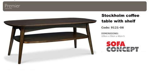 Stockholm Sofa Table by Stockholm Coffee Table Santaconapp