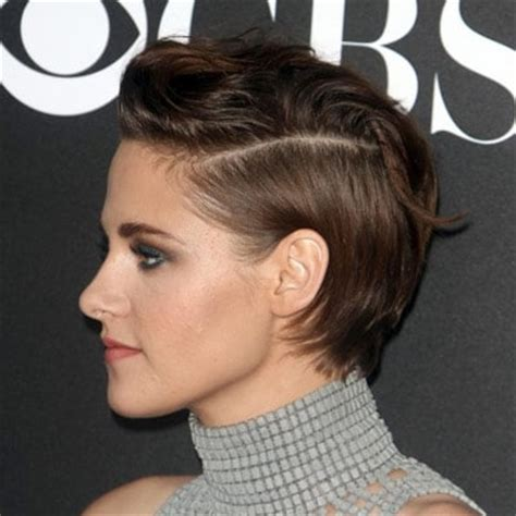 how to style short hair behind ears with really short bangs how to style short hair kristen stewart