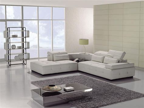 White Modern Sofas Furniture Design Small White Color Modern Leather Sectional Sofa S3net Sectional Sofas Sale