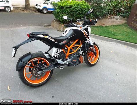 Ktm Duke 390 Orange Duke Of Ram My Orange Ktm Duke 390 Team Bhp