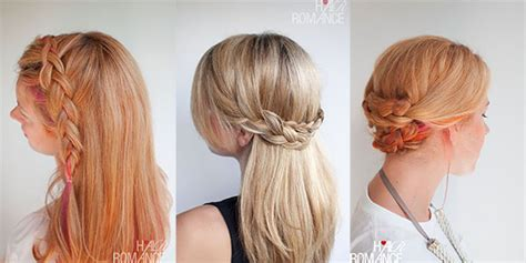 Hairstyles For Party Tutorials   the ultimate holiday hair guide hair romance