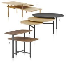 Table Basse Blanche 851 by Table Basse Extensible Fold Philippe Nigro Cinna