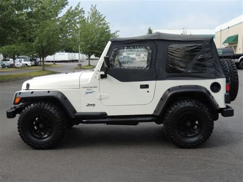 Lifted 1998 Jeep 1998 Jeep Wrangler Sport 4x4 6cyl 5 Speed Manual