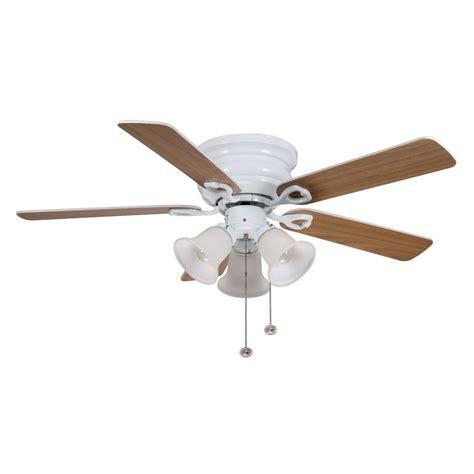 44 in clarkston ceiling fan hton bay cf544h peh clarkston 44 in white ceiling fan