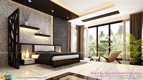Beautiful Bedroom Interior Design Beautiful Modern Interior Designs Kerala Home Design And Floor Plans