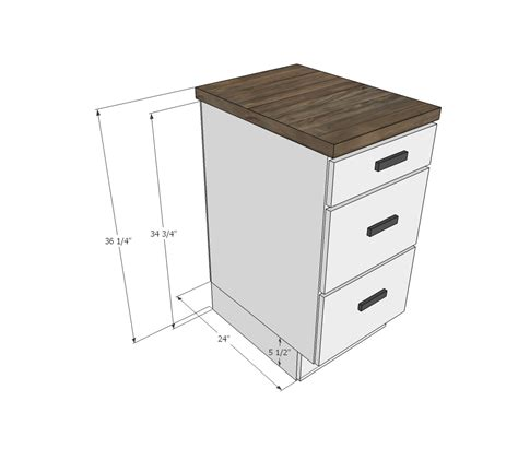 white tiny house kitchen cabinet base plan diy