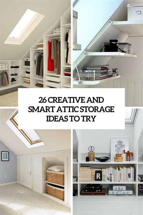 Attic Bedroom Storage