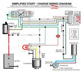 chevy 4 wire alternator wiring diagram chevy chevrolet free wiring diagrams